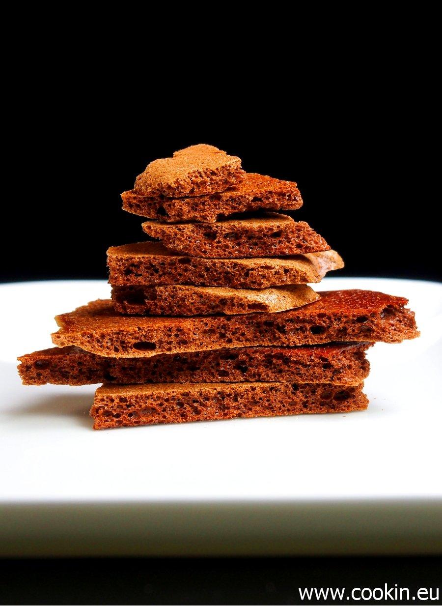 Dehydriertes Schokoladenmousse