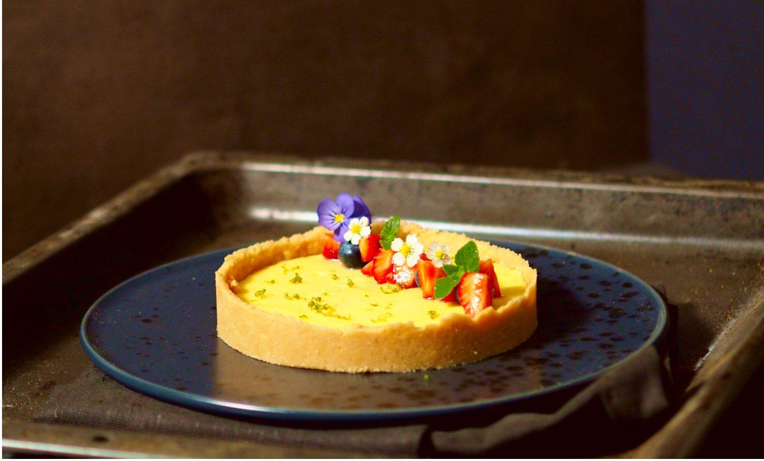 Die Limetten-Tarte ist schnell gemacht und köstlich - cookin
